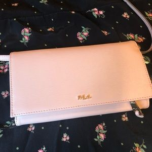 NWT Blush Pink Ralph Lauren Crossbody Bag